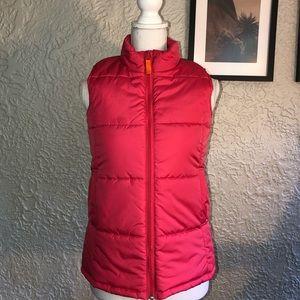 Land's End Girl's Puffer Vest.  Like New!
